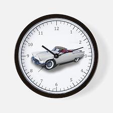1957 Ford Thunderbird Wall Clock