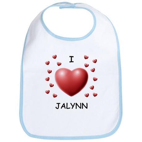 I Love Jalynn - Bib