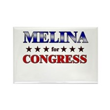 MELINA for congress Rectangle Magnet