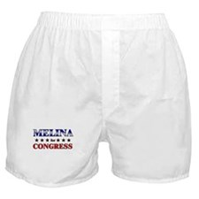 MELINA for congress Boxer Shorts