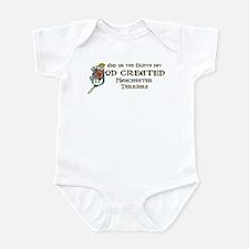 God Created Manchesters Infant Bodysuit