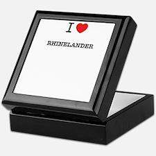I Love RHINELANDER Keepsake Box