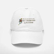 God Created Lowchens Baseball Baseball Cap