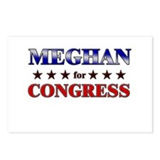 MEGHAN for congress Postcards (Package of 8)