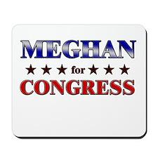 MEGHAN for congress Mousepad