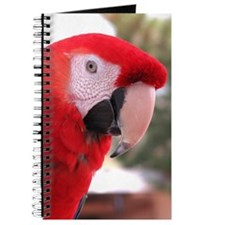 Helaine's Red Parrot (Mccaw) Journal