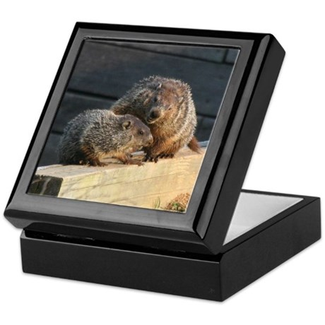 Groundhog Family Keepsake Box