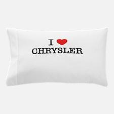 I Love CHRYSLER Pillow Case