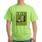 Life Is For Playing Video Games Green T-Shirt