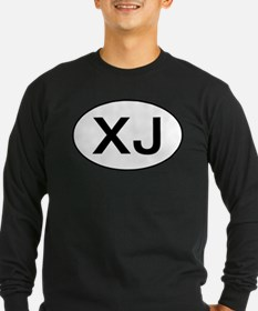 Jeep XJ oval Long Sleeve T-Shirt