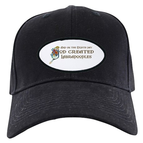 God Created Labradoodles Black Cap