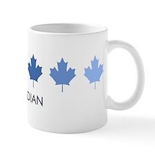 Canadian (blue variation) Small Mug