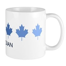 Canadian (blue variation) Small Mugs