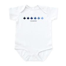 Canadian (blue variation) Infant Bodysuit