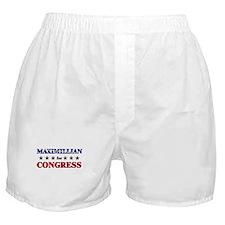 MAXIMILLIAN for congress Boxer Shorts