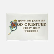 God Created Kerries Rectangle Magnet
