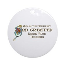 God Created Kerries Ornament (Round)