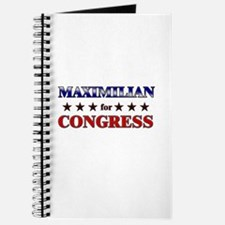 MAXIMILIAN for congress Journal