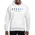 Bodybuilding (blue variation) Hooded Sweatshirt