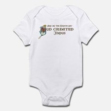 God Created Jindos Infant Bodysuit