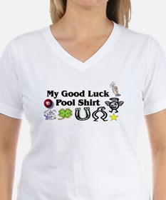 My Good Luck Pool Shirt Ash Grey T-Shirt