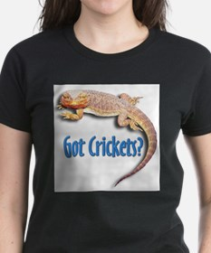 Bearded Dragon 2 Got Crickets Ash Grey T-Shirt