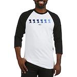BBQ (blue variation) Baseball Jersey