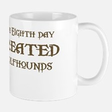 God Created Wolfhounds Mug