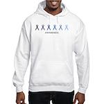 Awareness (blue variation) Hooded Sweatshirt
