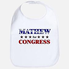 MATHEW for congress Bib