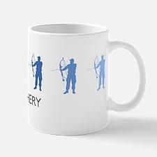 Archery (blue variation) Mug