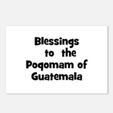 Blessings  to  the  Poqomam o Postcards (Package o