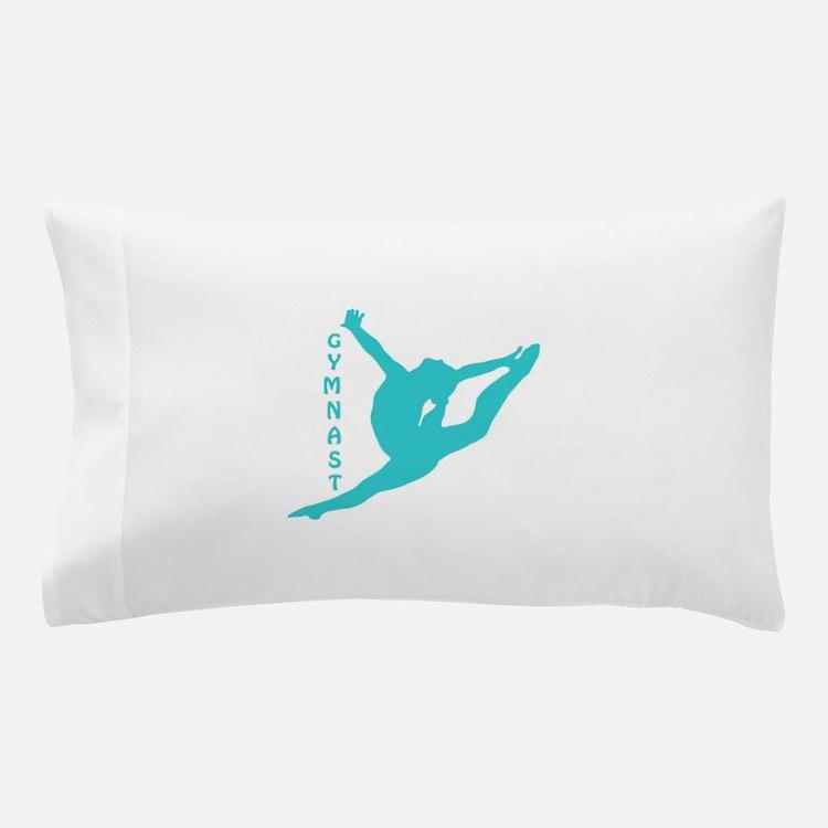 Gymnast Leap Pillow Case