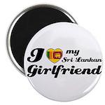 I love my Sri Lankan Girlfriend Magnet