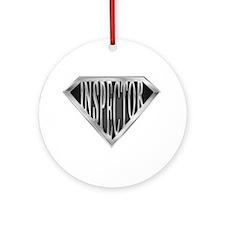 SuperInspector(metal) Ornament (Round)