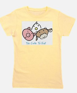 Meatless Girl's Tee
