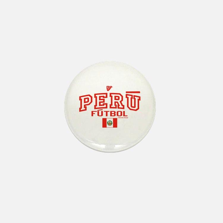 Peru Futbol/Soccer Mini Button