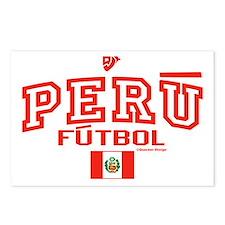 Peru Futbol/Soccer Postcards (Package of 8)