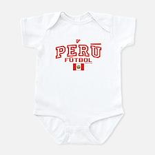 Peru Futbol/Soccer Infant Bodysuit