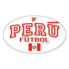 Peru Futbol/Soccer Decal