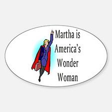 America's Wonder Woman Oval Decal