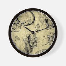 Unique Anatomy Wall Clock