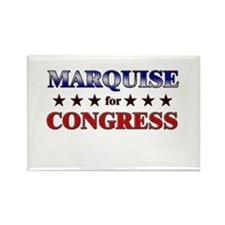 MARQUISE for congress Rectangle Magnet