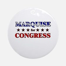 MARQUISE for congress Ornament (Round)