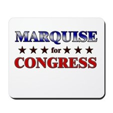 MARQUISE for congress Mousepad