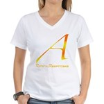 Out Campaign Women's V-Neck T-Shirt