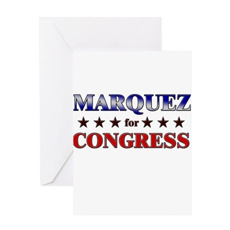 MARQUEZ for congress Greeting Card