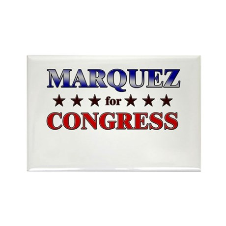MARQUEZ for congress Rectangle Magnet (10 pack)