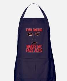 Rocky Horror Face Ache Apron (dark)