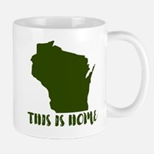 Wisconsin - This Is Home Mug